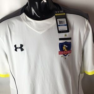 Under Armour Chile Colo-Colo Fitted Jersey XL NEW